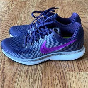 Purple Pegasus Nike's